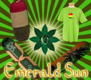 Emerald Sun T-Shirts and threads