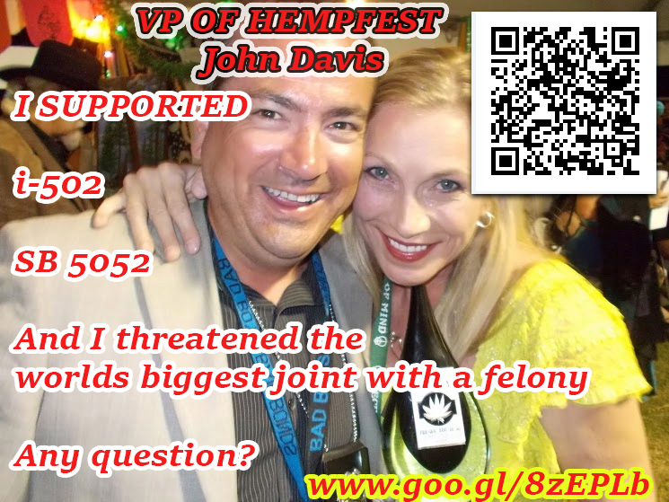 John Davis VP of Hempfest
